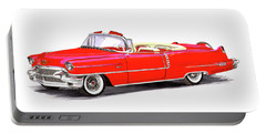1956 Cadillac Series 62 Convertible Portable Battery Charger