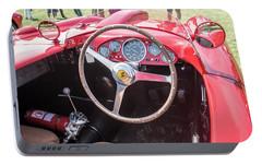 Portable Battery Charger featuring the photograph 1956 Ferrari 290mm - 4 by Randy Scherkenbach