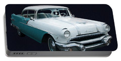 1956 Pontiac Star Chief Digital Oil Portable Battery Charger