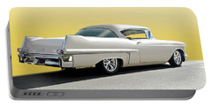 1957 Cadillac Custom Coupe Deville Portable Battery Charger