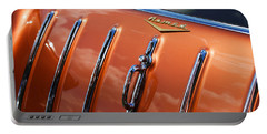 Portable Battery Charger featuring the photograph 1957 Chevrolet Nomad by Gordon Dean II
