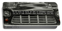 1957 Chevy Quote Portable Battery Charger