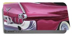 1957 Eldorado-red Portable Battery Charger
