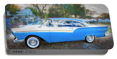 1957 Ford 2 Door Fairlane C130 Portable Battery Charger