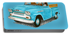 1958 Apache Pick Up Truck Portable Battery Charger