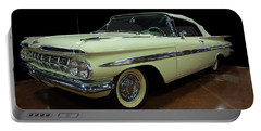 1959 Chevy Impala Convertible Portable Battery Charger