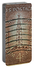 1959 First Oil Well Stamp Portable Battery Charger