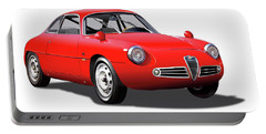 1960 Alfa Romeo Zagato Giulietta Sprint Portable Battery Charger