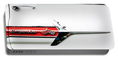1960 Chevy Impala Logo Portable Battery Charger