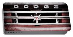 1960 Dodge Truck Grille Emblem -0275ac Portable Battery Charger