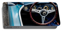 Portable Battery Charger featuring the photograph 1961 Austin Healey 3000 by M G Whittingham