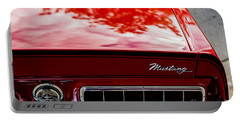 Portable Battery Charger featuring the photograph 1967 Mustang by M G Whittingham