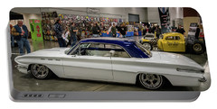 Portable Battery Charger featuring the photograph 1962 Buick Skylark by Randy Scherkenbach