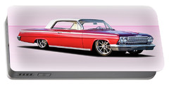 1962 Chevrolet Custom Impala Portable Battery Charger