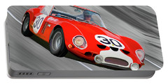 1962 Ferrari 250 Gto Portable Battery Charger by Wally Hampton