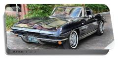 1963 Corvette Split Window Coupe Portable Battery Charger