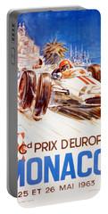 1963 F1 Monaco Grand Prix  Portable Battery Charger