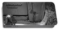 Portable Battery Charger featuring the photograph 1964 Austin Westminster - Detail by Cendrine Marrouat