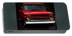 Portable Battery Charger featuring the photograph 1964 Chevrolet Pick Up by Baggieoldboy