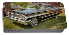 Portable Battery Charger featuring the photograph 1964 Ford Galaxie 500 Xl by Susan Rissi Tregoning