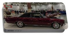 1964 Pontiac Gto Portable Battery Charger by Randy Scherkenbach