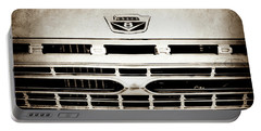 1966 Ford F100 Pickup Truck Grille Emblem -113s Portable Battery Charger