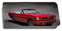 1966 Ford Mustang Convertible Portable Battery Charger
