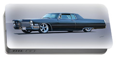 1967 Cadillac Custom Coupe Deville Portable Battery Charger