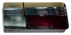 Portable Battery Charger featuring the photograph 1967 Plymouth Belvedere Gtx Rear Tail Light by Chris Flees