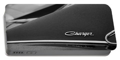 1968 Dodge Charger Portable Battery Charger by Gordon Dean II