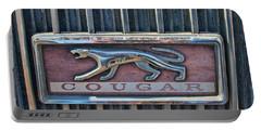1968 Mercury Cougar Emblem Portable Battery Charger