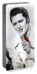 1968 White If I Can Dream Suit Portable Battery Charger