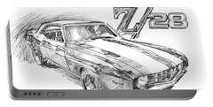 1969 Camaro Z/28  Portable Battery Charger