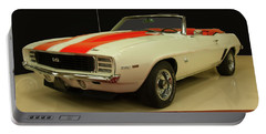 1969 Chevy Camaro Rs/ss Indy Pace Car Portable Battery Charger