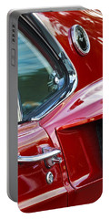 1969 Ford Mustang Mach 1 Side Scoop Portable Battery Charger by Jill Reger