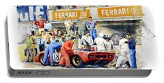 1969 Le Mans 24 Ferrari 312p Pedro Rodriguez  David Piper Portable Battery Charger