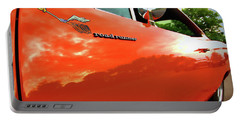 1969 Plymouth Road Runner 440 Roadrunner Portable Battery Charger by Gordon Dean II