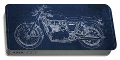 Moto Blueprint Drawings Portable Battery Chargers