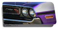1970 Dodge Challenger Rt 440 Magnum Portable Battery Charger by Gordon Dean II