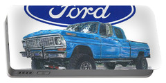 1970 Ford F-250 Crew Cab Portable Battery Charger