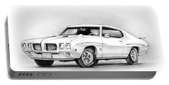 1970 Pontiac Gto Judge Portable Battery Charger