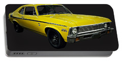 1971 Chevy Nova Yenko Deuce Portable Battery Charger by Chris Flees