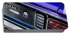 Portable Battery Charger featuring the photograph 1971 Cuda by Brad Allen Fine Art