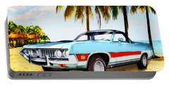 1971 Ford Ranchero At Three Palms - 5th Generation Of Ranchero Portable Battery Charger