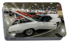 Portable Battery Charger featuring the photograph 1972 Javelin Sst by Randy Scherkenbach
