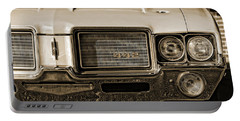 1972 Olds 442 - Sepia Portable Battery Charger