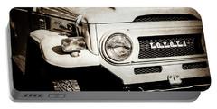 1973 Toyota Fj40 Land Cruiser Grille Emblem -1918s Portable Battery Charger