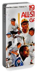 1974 Baseball All Star Game Program Portable Battery Charger