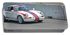 1974 Porsche 911 Portable Battery Charger by Mike Martin