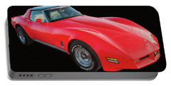 1977 Chevy Corvette T Tops Digital Oil Portable Battery Charger